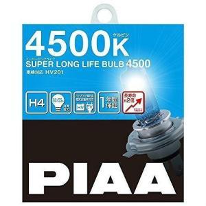 PIAA スーパーロングライフH4 4500K yellowhat
