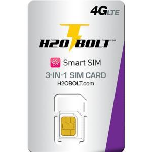 アメリカ SIM データ専用 h2o BOLT SIMカード
