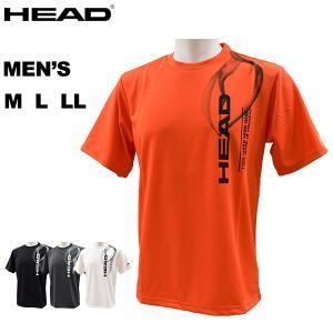 ヘッド head メンズ Tシャツ ロゴTシャツ 抗菌消臭 吸汗速乾 ドライ 快適 再帰反射 1212224GMH メール便も対応 yf-ing
