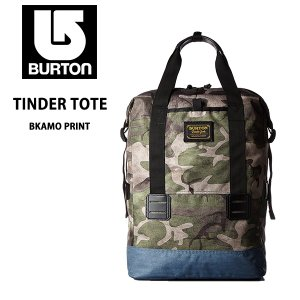 burton/バートンディパック/リュックサック/バックパック/バッグTINDER TOTE BKAMO PRINT/あすつく対応_北海道/|yf-ing