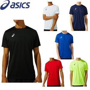 アシックス asics メンズ Tシャツ クイックドライ 吸汗速乾 男性 シンプル 定番 ワンポイント ロゴTシャツ 2031C243 メール便も対応 yf-ing