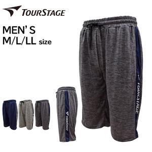 ブリヂストン ツアーステージ tourstage メンズ ジャージハーフパンツ ショートパンツ 吸水速乾 ドライ 男性 軽量薄手 ゴルフ GOLF4212005GMT メール便も対応|yf-ing