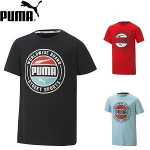 プーマ PUMA ジュニア Tシャツ 583011 メール便も対応|yf-ing
