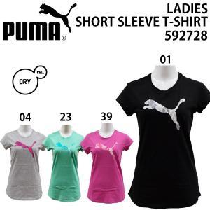 puma/プーマレディース/半袖Tシャツ592728|yf-ing
