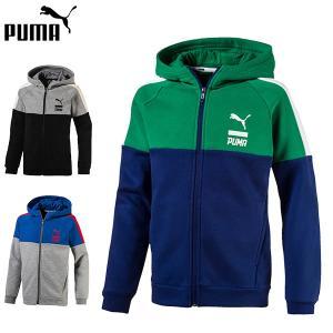 プーマ puma スウェットジャケット キッズ ジュニア 594679 あすつく対応_北海道|yf-ing