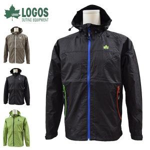 ロゴス LOGOS アウトドアジャケット メンズ 撥水ナイロンパーカー マエストラーレジャケット 8433-3300 レターパックも対応|yf-ing