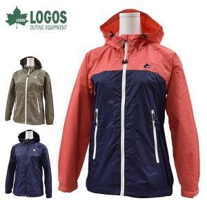 ロゴス LOGOS アウトドアジャケット レディース 撥水ナイロンパーカー マエストラーレジャケット 8886-0350 レターパックも対応|yf-ing