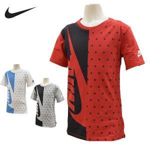 ナイキ nike 半袖 Tシャツ キッズ ジュニア AJ8711 ビッグロゴ メール便も対応 130 140 150 160|yf-ing