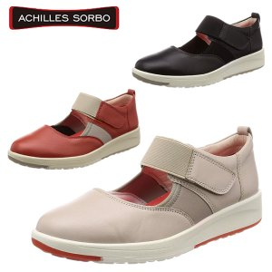 [3E/足にやさしい靴]アキレス・ソルボC 350 スリッポン 本革 スニーカー レディース コンフォートシューズ ACHILLES SORBO ASC3500  BOS|yf-ing
