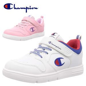 チャンピオン Champion スニーカー 靴 子供靴 シューズ  キッズ ジュニア 子供 ベルクロ キッズジャムコート 3 CP KJ022  BOS|yf-ing