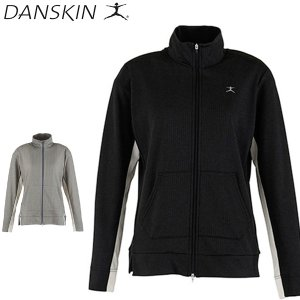 ダンスキン danskin フィットネスジャケット レディース NON WETスタンドカラージャケット DB56350 メール便も対応|yf-ing