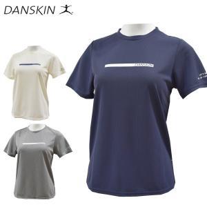 ダンスキン danskin 半袖Tシャツ レディース フィットネスウェア DB78216 メール便も対応|yf-ing