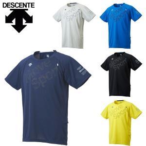 デサント descente ムーブスポーツ MOVESPOR 半袖Tシャツ メンズ トレーニング BRZ+ DMMLJA62 ハーフスリーブシャツ メール便も対応|yf-ing