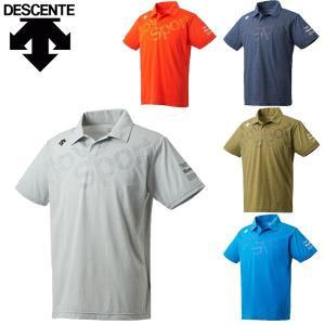 デサント descente ムーブスポーツ MOVESPORT 半袖ポロシャツ メンズ トレーニング タフTポロ DMMLJA77 メール便も対応|yf-ing