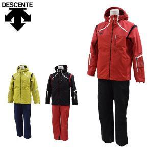 【送料無料】デサント descente スキーウェア 上下セット メンズ DRA-7195/DRA-7595 あすつく対応_北海道 yf-ing