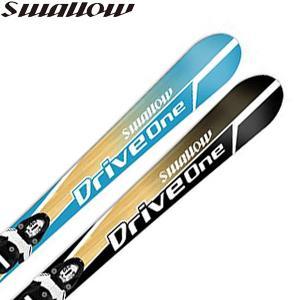スワロー swallow ジュニア スキー板 ビンディング セット ドライブワン DRIVE ONE DRIVEONE-1819|yf-ing