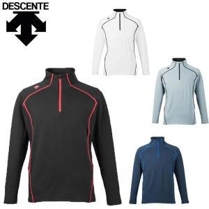 デサント descente メンズ アンダーシャツ ハーフジップ スキーインナー DUS-7415 レターパックも対応 yf-ing
