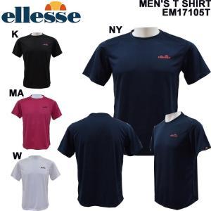 ellesse/エレッセメンズTシャツ/テニスウェア/テニスTシャツEM17105T/メール便も対応/|yf-ing