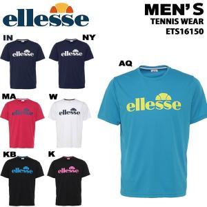 【メール便/送料無料】エレッセ ellesse メンズ半袖Tシャツ テニスウェア  ETS16150|yf-ing