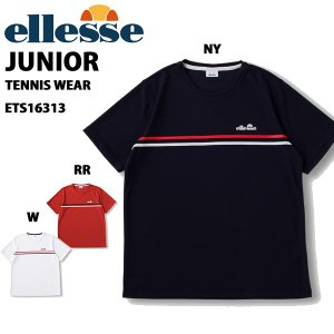 【メール便/送料無料】エレッセ ellesse ジュニア半袖Tシャツ テニスウェア ETS16313J yf-ing