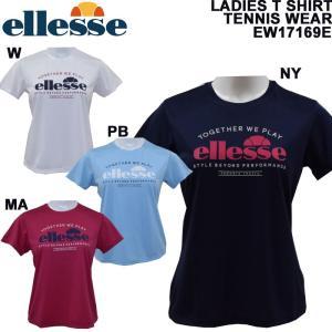 ellesse/エレッセ/レディース半袖Tシャツ/テニスTシャツ/EW17169E/メール便も対応/|yf-ing