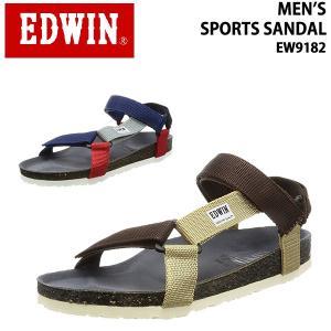 edwin/エドウィンメンズサンダル スポーツサンダルEW9182/あすつく対応_北海道/ yf-ing