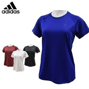 アディダス adidas 半袖 Tシャツ レディース GEF98 メール便も対応|yf-ing