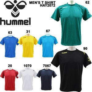 hummel/ヒュンメルメンズ半袖TシャツHAY2072/メール便も対応/|yf-ing