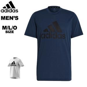 アディダス adidas メンズ 半袖Tシャツ M D2M FR LG トレーニングTシャツ ビッグロゴTシャツ 吸汗 快適 IWO25 メール便も対応 GT3112 GT3110 yf-ing