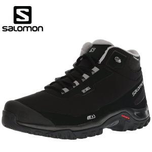 サロモン salomon スノーブーツ メンズ スノトレ 冬靴  SHELTER CS WP スノーシューズ L40472900 あすつく対応_北海道|yf-ing