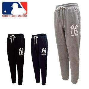 MLB公式ライセンス MAJOR LEAGUE BASEBALL OFFICIALLY LICENCED ヤンキース スウェットパンツ メンズ MB86746 あすつく対応_北海道|yf-ing