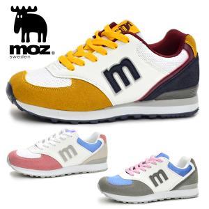 モズ レディース スニーカー MOZ MZ3022 靴 シューズ カジュアル おしゃれ かわいい 北欧 靴 女性  プチプラ BOS|yf-ing
