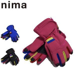 ニーマ nima スキーグローブ キッズ ジュニア 雪遊び NGJ-353  レターパックも対応 110 120 yf-ing