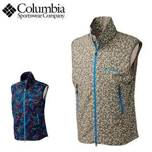 コロンビア columbia メンズアウトドアベスト タイムトゥートレイルパターンドベスト PM1191 レターパックも対応|yf-ing