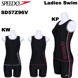 speedo/スピードレディースフィットネス水着/セパレーツスイムウエアSD57Z96V/レターパックも対応/|yf-ing