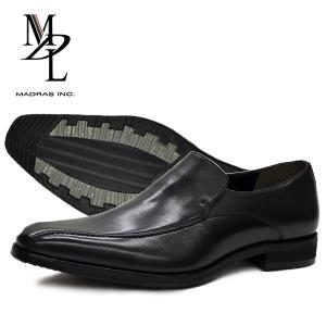 マドラス エムディエル ビジネスシューズ ビジカジ メンズ 紳士 紳士靴 ビジネス フォーマル 本革 革靴 防滑 madras MDL エムディエル SPDS4048  BOS|yf-ing