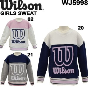 wilson/ウイルソンジュニアスウェットシャツWJ5998/レターパックも対応/|yf-ing