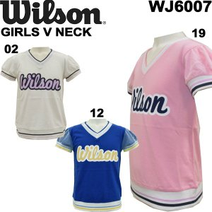 wilson/ウイルソンジュニア半袖TシャツショートスリーブTシャツWJ6007/メール便も対応/|yf-ing