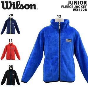 wilson/ウイルソンジュニアフリースジャケットキッズフリ...