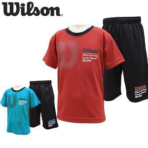 ウイルソン wilson Tシャツ ハーフパンツ 上下セット キッズ ジュニア WX5885 メール便も対応 yf-ing