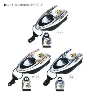 下野(シモツケ) MJB 引舟ステッカー(HI-042Pホワイト用) ゴールド|yfto