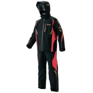 がまかつ GM-3460 オールウェザースーツ ブラック 3L / 防寒 上下 透湿防水 釣り yfto