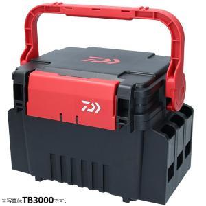 ダイワ タックルボックス TB4000 ブラック/レッド / DAIWA タックルケース|釣具のFTO