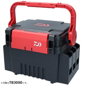 ダイワ タックルボックス TB3000 ブラック/レッド / DAIWA タックルケース
