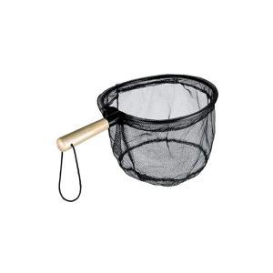 OGK ワンタッチ渓流ダモ 25cm ブラック / 渓流釣り タモ コンパクト|yfto