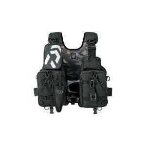 ダイワ DF-6206 フロートゲームベスト ジェットブラック フリー / ライフジャケット