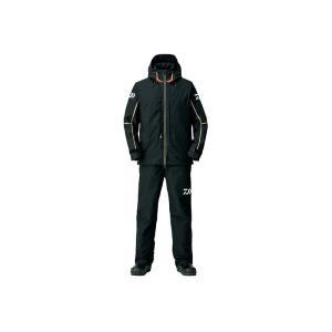 ダイワ DW-1808 ゴアテックス プロダクト コンビアップ ウィンタースーツ  ブラック XL / 釣り 防寒ウェア 上下セット yfto