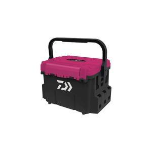 ダイワ 紅牙 TB5000 ブラック×紅牙ピンク / 釣り 収納 タックルボックス|yfto
