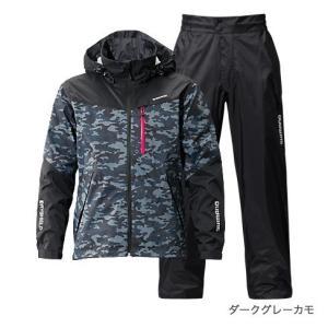 シマノ DSスタンダードスーツ ダークオレンジカモ XS|yfto