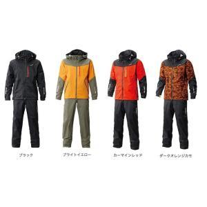 シマノ DSスタンダードスーツ ダークオレンジカモ XS|yfto|02